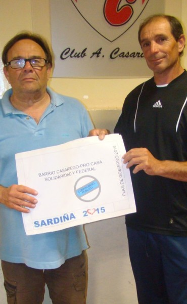 Sardiña empezó su derrotero en Casariego