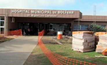 Un joven accidentado en moto en Nueve de Julio, fue trasladado a Bolívar