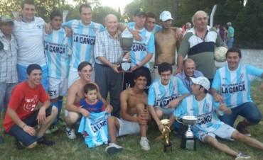 Fútbol Rural Recreativo: Urdampilleta se llevó todo