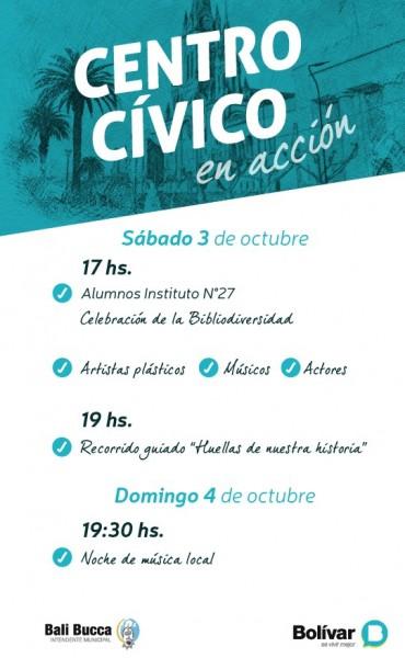 Fin de semana: Actividades programadas en el 'Centro Cívico'