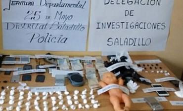 Saladillo: Dos detenidos que trasladaban la droga en un bebote de juguete