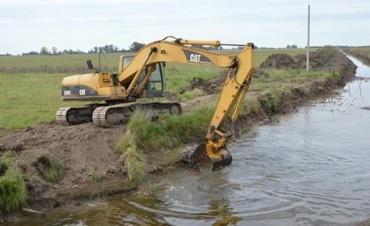 Finalizan los trabajos de limpieza en el Canal Valerga