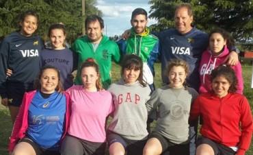 Las Indias 'Rugby' participaron de un encuentro en Olavarría
