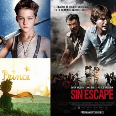 El Principito, Peter Pan y Sin Escape llegan al Avenida
