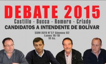 Hoy se realizará el debate de candidatos a Intendente