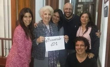 Abuelas de Plaza de Mayo recuperó la identidad del nieto 121