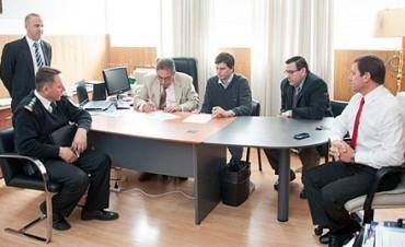Ambiente firmó un convenio con el Ministerio de Justicia Provincial