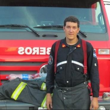 Un animal atrapado en una manga, provocó la salida de bomberos