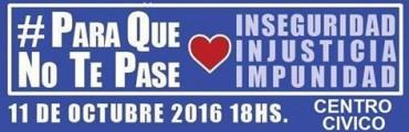 Hoy Martes: Marchá #ParaQueNoTePase