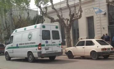 Leve accidente de un ciclista en avenida San Martín