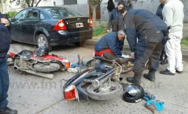 Urgente: Importante colisión entre dos motos