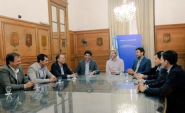 El intendente mantuvo una reunión con el Ministro del Interior y Obras Públicas