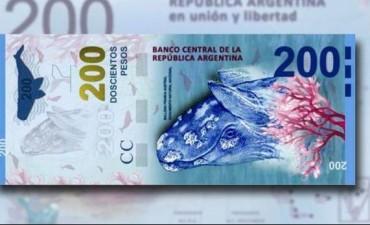 Sturzenegger presentará el nuevo billete de 200 pesos en Puerto Madryn