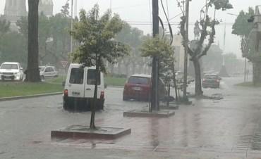 Intensas lluvias, pero con milimetrajes variados en diferentes zonas del partido de Bolívar
