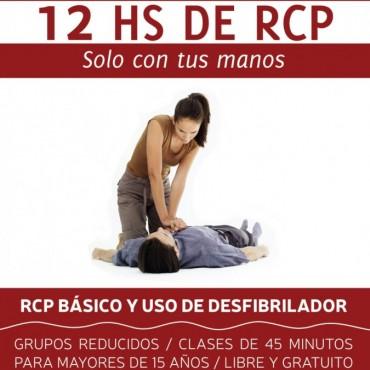 Sigue abierta la inscripción para el curso de RCP