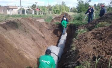 Obras Públicas realiza trabajos de entubado en barrio 'La Ganadera'