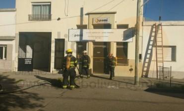 Incendio en las oficinas de PAMI