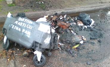 El Municipio repudia la destrucción de otro 'Punto Verde'