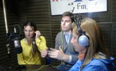 Candidatos del intendente Bucca, visitaron FM 10