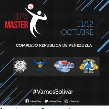 Bolívar será sede de la copa máster, primera competencia oficial de la temporada