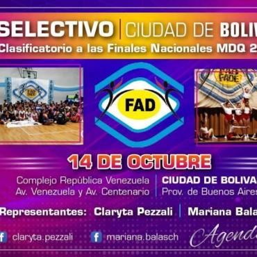 Primera Prueba Selectiva de danzas en Bolívar
