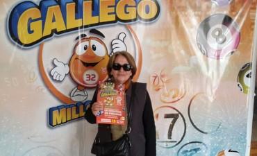 Se realizó el sorteo del 'Gallego Millonario'
