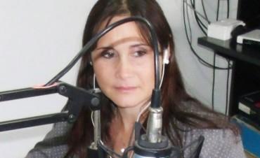 Silvina Pinedo describe lo que dejó el temporal tras su paso por Urdampilleta