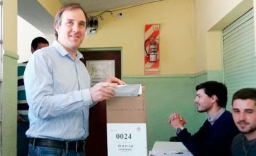 Votó José Gabriel Erreca, del espacio Cambiemos