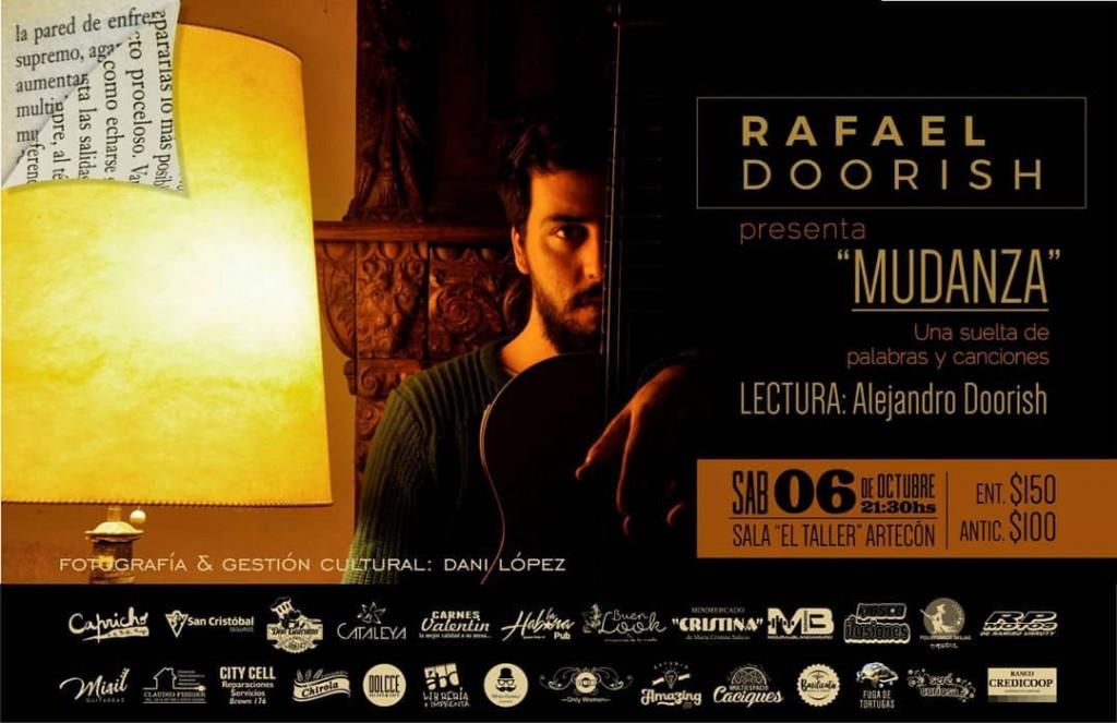 Rafa Doorish presenta 'Mudanza' en Sala El Taller Artecon
