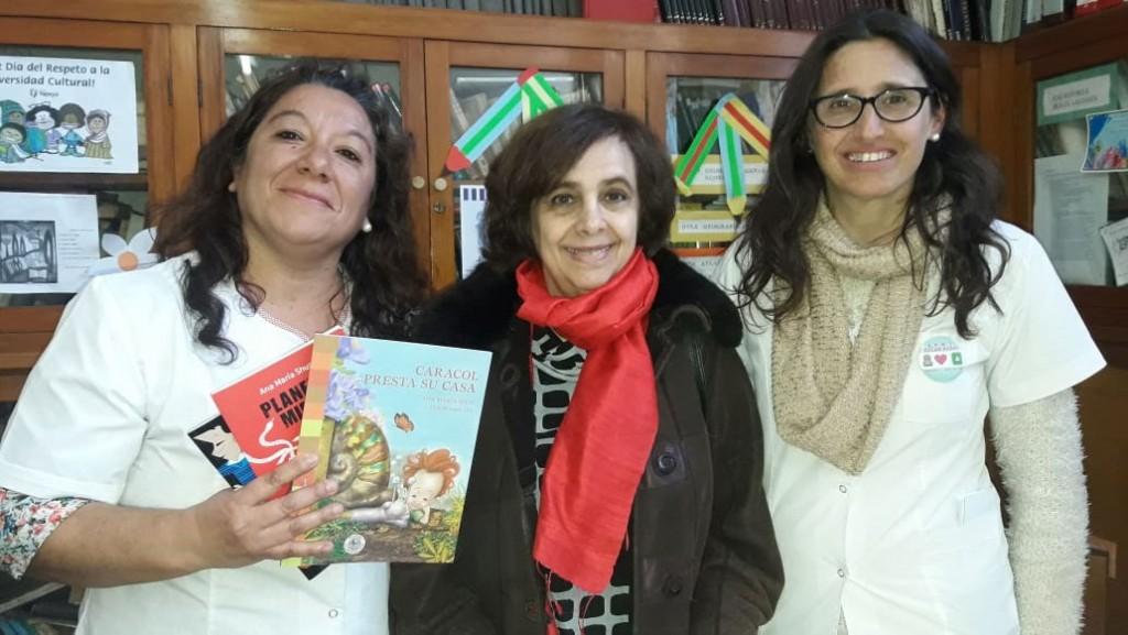 La EP N.º 2 recibió a la escritora Ana María Shúa en el marco del proyecto institucional que vienen trabajando