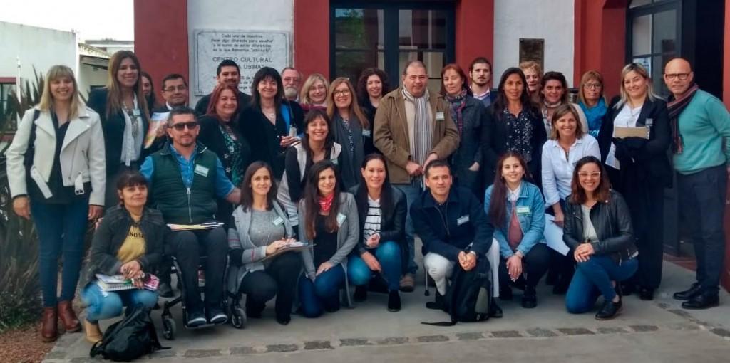 El equipo de discapacidad participó de un encuentro en Rauch