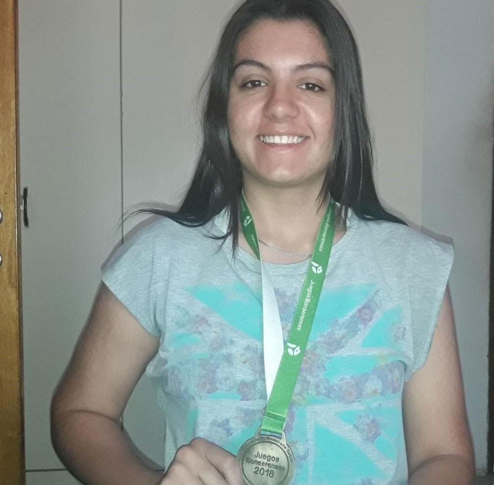Abril Martin se trajo el oro desde Mar del Plata en la etapa final de los Juegos Bonaerenses