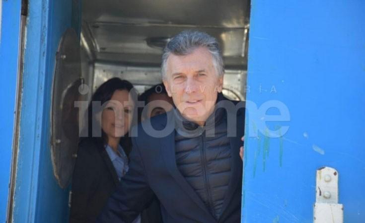 Mauricio Macri en Olavarría: 'Soy el primero en saber lo que está costando'