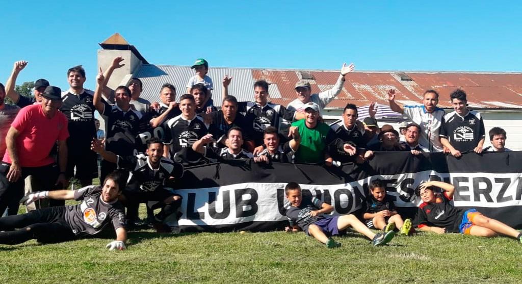 Unión es Fuerza se consagró campeón en la 2º división del Futbol Rural