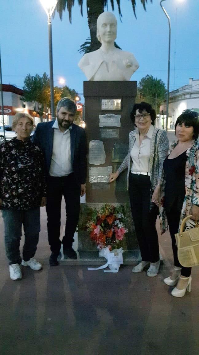 Se realizó el tradicional acto del 'Día de la Lealtad Peronista' en Plaza Mitre