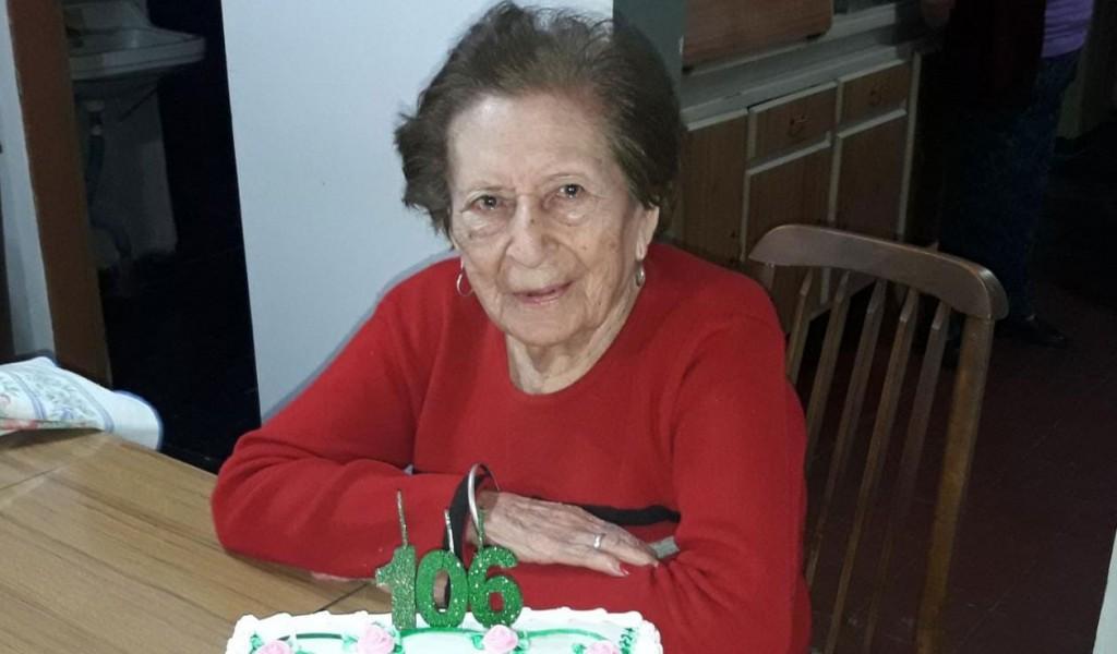 Felices 106 años Petrona