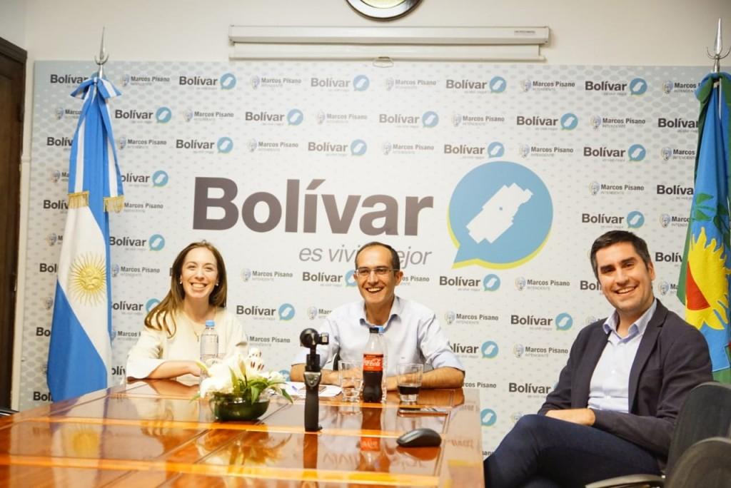 Vidal: 'La obra pública en Bolívar que es visible demuestra que podemos trabajar en conjunto'