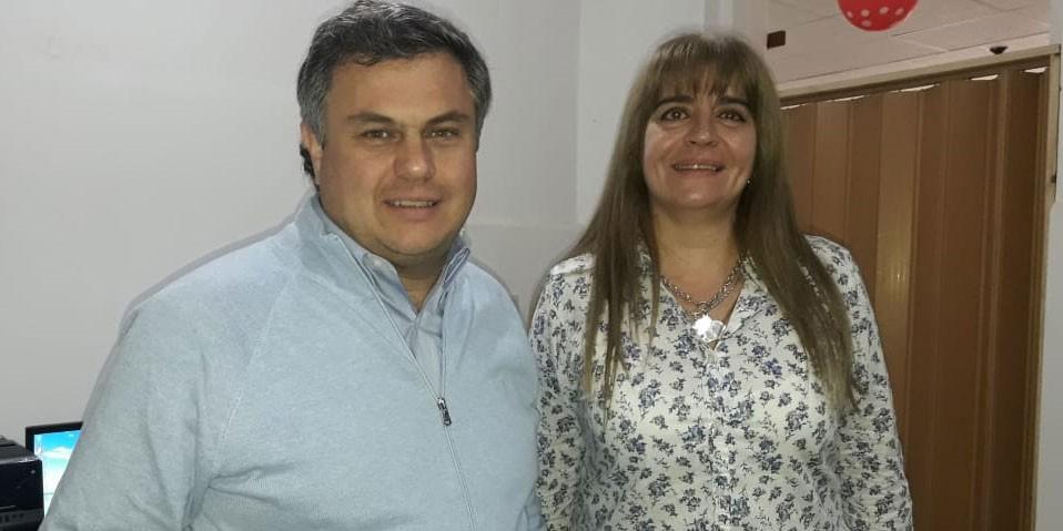 El Ministro de Desarrollo Social de la Provincia de Buenos López Medrano, visito la ciudad