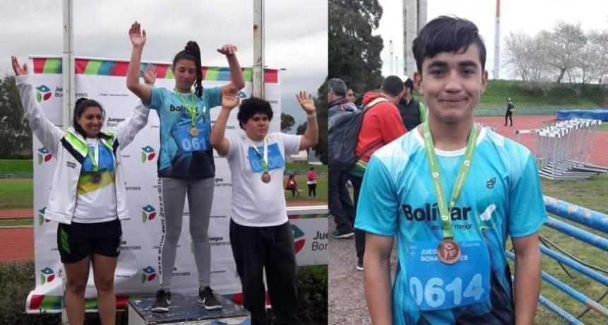 Los deportistas locales ya sumaron medallas en la etapa final de los Juegos Bonaerenses