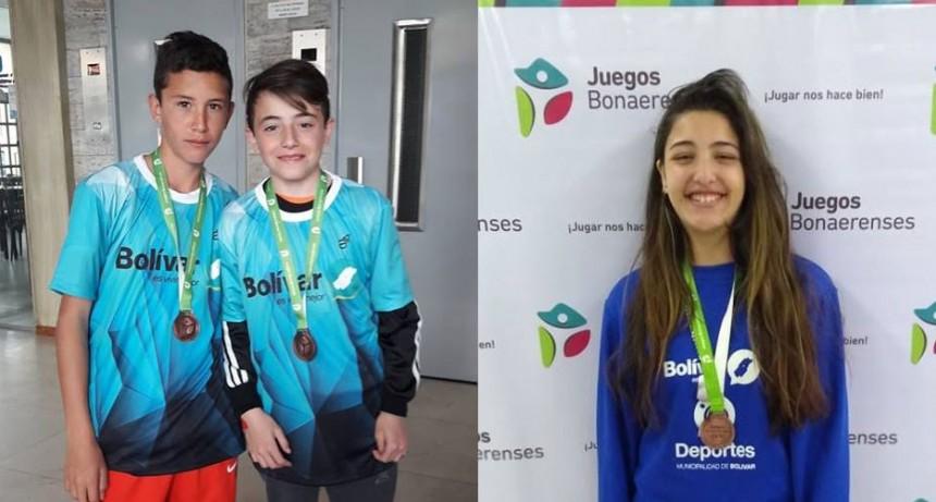Se siguen sumando medallas para Bolívar en los Juegos Bonaerenses