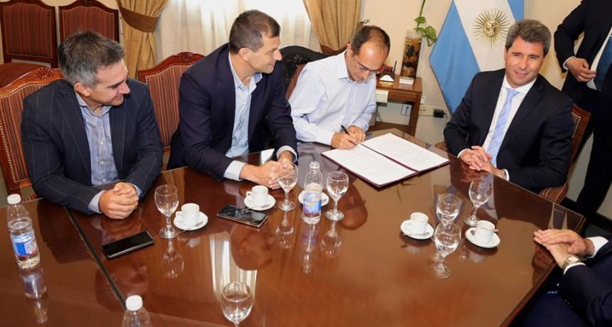 La Ciudad de San Juan y Bolívar firmaron un convenio para participar en la 20º edición del Maratón Dino Hugo Tinelli