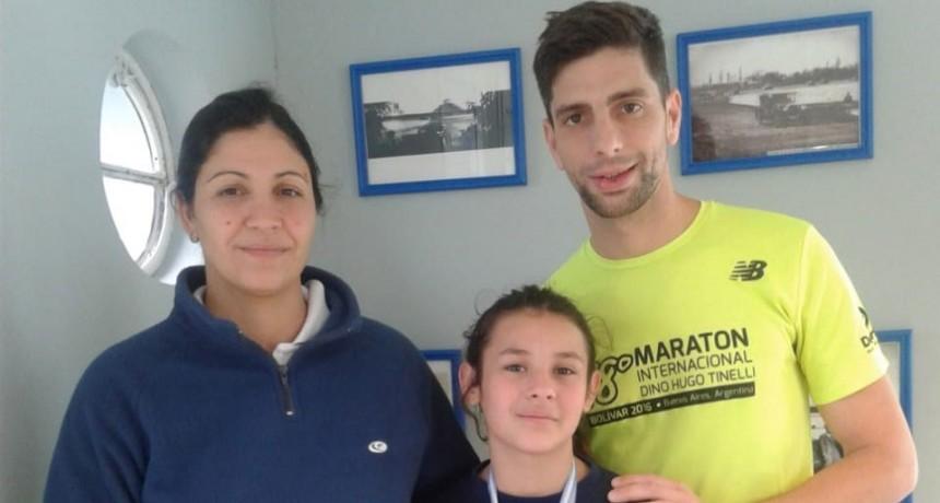 Una nadadora bolivarense se trajo dos medallas desde La Madrid