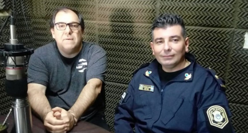 Luciano Reos: 'Lo que hay que destacar es el trabajo en conjunto que se realizó con la Fiscalía, la policía científica y el centro de monitoreo'
