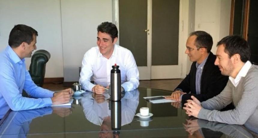 Pisano y Bucca se reunieron con el ministro de energía Javier Iguacel