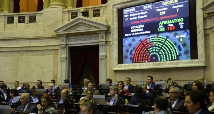 Tras la represión y con ayuda de un sector del PJ, Cambiemos logró la media sanción del Presupuesto