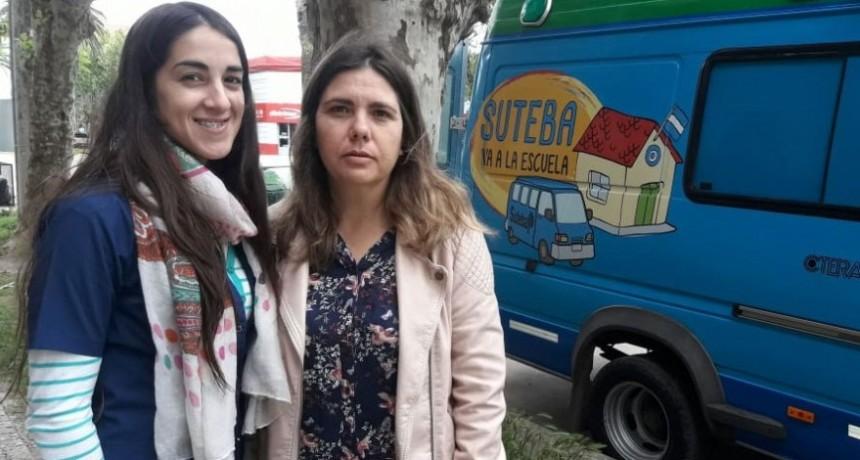 El programa 'SUTEBA va a la Escuela' llegó a Bolívar