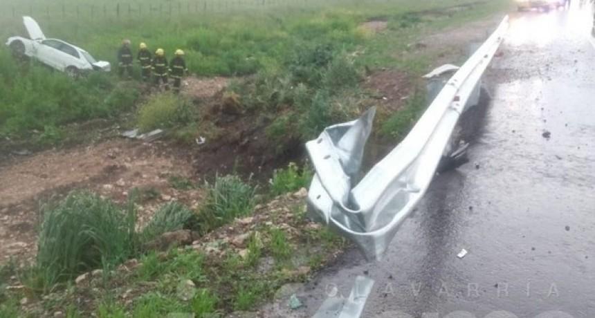 Olavarría: Fatal despiste sobre ruta 51 en el límite con Laprida; un muerto