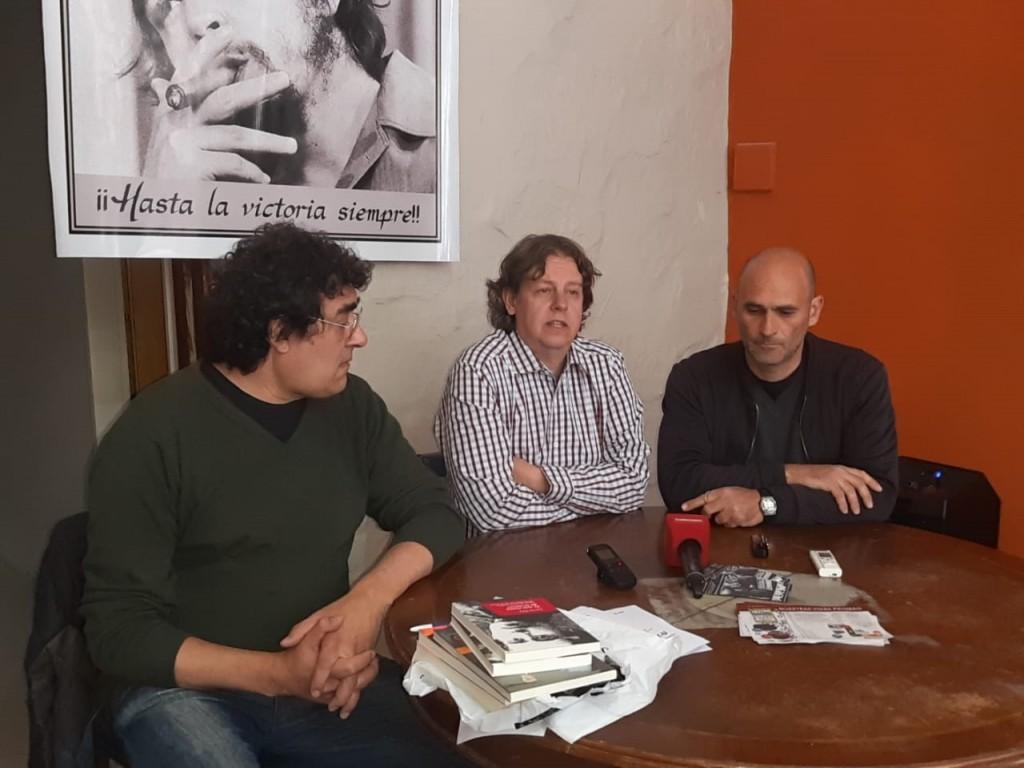 Cristian Castillo: 'La deuda contraída con el FMI es ilegal por lo tanto no tiene que pagarla el pueblo, sino los capitalistas'