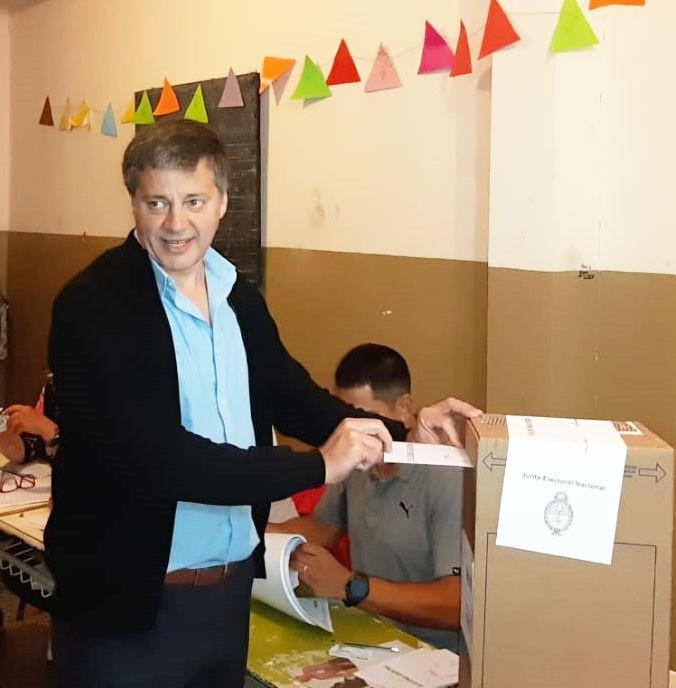 Votó Juan Carlos Moran