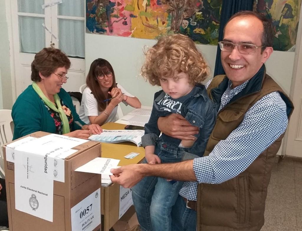 Votó Marcos Pisano